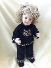 """Artista 21"""" Vinyl Doll """"Cat's Meow"""" By Donna RuBert Charisma 2006 Limited Ed."""
