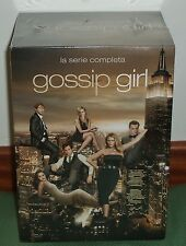 GOSSIP GIRL - THE SERIES COMPLETA-1-6 TEMPORADAS-30 DVD NEW SEALED