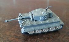 W.T. 227 Tiger 1 Diecast Toy Tank Made In Hong Kong