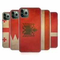 HEAD CASE DESIGNS VINTAGE FLAGS SET 6 SOFT GEL CASE FOR APPLE iPHONE PHONES