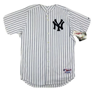 New York Yankees Jersey Mens size 48 Majestic A ROD #13 Pinstripe VTG