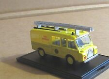 OXFORD DIECAST LAND ROVER FT6 CARMICHAEL CIVIL DEFENCE FIRE VEHICLE 1:76 SCALE