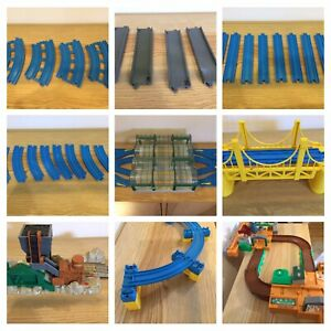TOMY TRACKMASTER TRACK, ROAD, BRIDGES, SUPPORTS, BUILDINGS, CHOOSE & SELECT