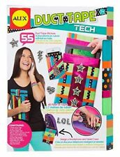 Alex Toys Girl's Duct Tape Tech Craft Kit with Stickers Assortment