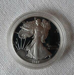 US  Silver Eagle 1987