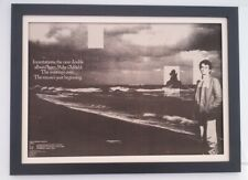 MIKE OLDFIELD*Incantations*Tour*1978*ORIGINAL*Giant*POSTER*AD*FRAMED*FAST SHIP