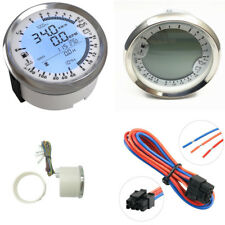 6 in 1 Multi-function GPS Speedometer Tachometer Voltmeter Hour Water Temp Gauge