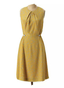 Girls From Savoy by Ann Louise Roswald Gold Dress