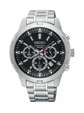 Seiko Men's Black Watch - SKS605P1
