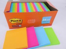 24 Pack Post-it Super Sticky Notes Cabinet Rio De Janeiro 76x76mm 654-24SSAU-CP