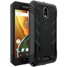 POETIC【Revolution】Rugged Hybrid w/ Built-In Screen Protector Case for Moto G4