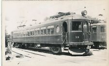 1930-40's London & Port Stanley Railway Canada Trolley Photo  #14 & E 1