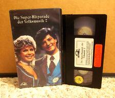 DIE SUPER HITPARADE DER VOLKSMUSIK 2 Ernst Mosch VHS Lydia Huber 1990 Lolita