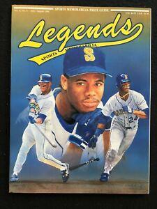 Legends Sports Memorabilia Magazine, July/August 1991, Ken Griffey Jr. pictured