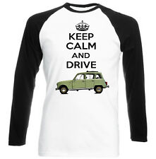 RENAULT 4L 1967 KEEP CALM - NEW COTTON TSHIRT - ALL SIZES IN STOCK