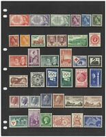 Australia 1953-65 Complete Simplified Collection 132 Stamps Fine MUH 14-16