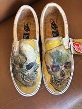 IN HAND Exclusive Vincent Van Gogh Museum x Vans Skull Slip On US Men Sz 7.5 W 9