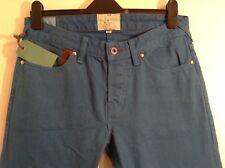 BNWT 100% Auth Paul Smith Cobalt Blue Red Ear Village Selvedge Jeans 30 RRP £170