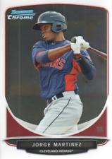 2013 Bowman Chrome Prospects #BCP145 Jorge Martinez Cleveland Indians