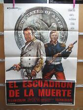 A4437 El escuadrón de la muerte  Broderick Crawford,  Elisa Montés,  Mario Valde