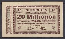 Hamborn-Neumühl - Steinkohlenbergwerk Sindacato Neumühl - 20 Milioni Marchi