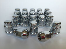 "Ford Falcon XA XB XC XD XE XF XH Fairlane  28pcs 1/2"" Chrome Wheel Nuts 34mm"
