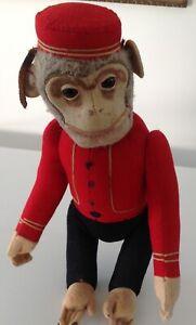 Schuco 1920's Bellhop Yes/No Monkey