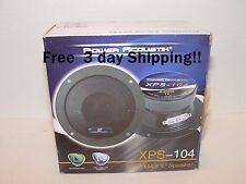 "New Power Acoustik XPS-104 4"" 300W Mid Range Car Audio Speaker Loud And Clear"