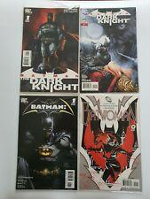 DC Comics: Batman: The Dark Knight #1 #2 Batman The Return #1 Batwoman #0 - D10