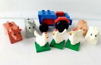 Lego Duplo Farm Animals Bundle and Tractor