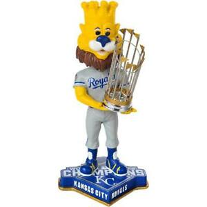 Sluggerrr the Lion Kansas City Royals World Series (2015) Bobblehead MLB