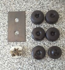 Vintage Crabtree and G.E.C Mutac light switches