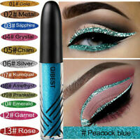 QIBEST DIAMOND Shimmer Liquid Eyeshadow Waterproof Eyeliner Glitter Eyeshadow
