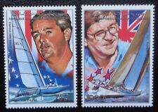Comores, PA n°268 et 269, coupe de l'America, voiliers, 1988, N**