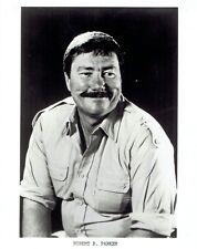1982 Vintage Photo mystery writer Robert B. Parker for TV show Spenser: For Hire