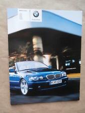 Bmw 318ci 320ci 325ci 330ci 320cd 330cd e46 cabrio 3/2006 + m paquete + individual
