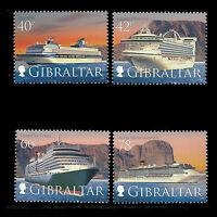 Gibraltar 2008 - Cruise Liners Ships - Sc 1153/56 MNH