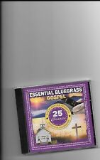 "ESSENTIAL BLUEGRASS GOSPEL, CD ""25 GOSPEL CLASSICS"" NEW SEALEDZ"