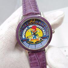 WOODY WOODPECKER,Great Colors,MEN'S CHARACTER WATCH,Purple Band,165,L@@K