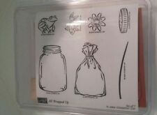 Stampin Up All Wrapped Up Stamp Set NEW UM