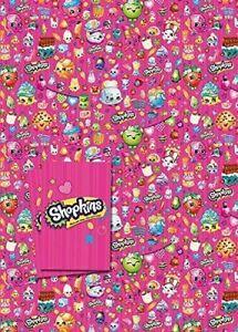 Shopkins 2 Sheet 2 Tag Gift Wrap
