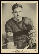 1939-40 V301-1 O-PEE-CHEE OPC HOCKEY~#39~NEIL COLVILLE~HOF~NEW YORK RANGERS