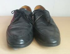 Frank Wright shoes / brouges, upper leather Black Lace up size 8