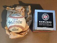 Vintage Early Rawlings Official South Atlantic League Baseball Ball w/Box!!!