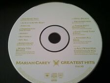 Mariah Carey - Greatest Hits - Disc 2 - DISC ONLY