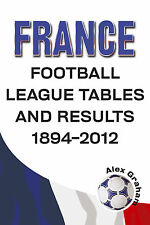 France - Football League Tables and Results 1894-2012 Le Championnat Statistics