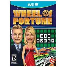 Nintendo Wii U Wheel of Fortune Game BRAND NEW SEALED