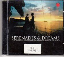 (DX277) Serenades & Dreams, 20 tracks various artists - 2001 CD