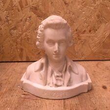Vintage Mozart Bust - 13cm Tall