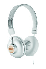 House of Marley Positive Vibration 2 Wired On-Ear Headphones - Silver